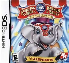 Ringling Bros. and Barnum & Bailey: Circus Friends - Asian Elephants (Nintendo DS, 2009)