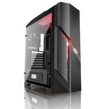 PC Gehäuse AZZA Photios 250-schwarz-2x 120mm FAN-Sichtfenster Echtglas