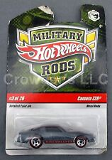 """Vintage Collectible Hot Wheels Military Rods Camaro Z28 """"Minesweeper"""" #3 of 26"""