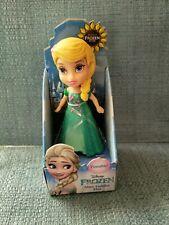 """DISNEY Frozen Mini Toddler Doll 3"""" Poseable, FROZEN FEVER ELSA"""