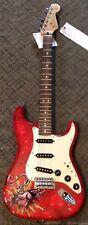2015 Fender David Lozeau Standard Stratocaster Sacred Heart Strat Guitar