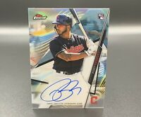 Bobby Bradley Auto RC 2020 Topps Finest FA-BBR Autograph Cleveland Indians MLB