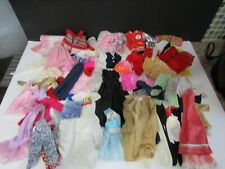 55 Piece Mixed Lot of Barbie Doll Clothing 80's to Present