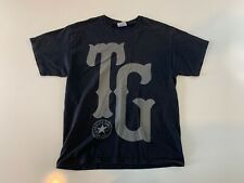 TAYLOR GANG OR DIE Wiz Khalifa T Shirt Black Size Large Cotton Short Sleeve