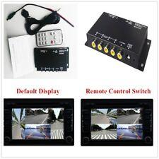 4-Way Car Parking View Camera Vedio Recorder VCR Image Split-Screen Control Box