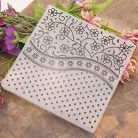 flowers Embossing folders Plastic Embossing Folder For Scrapbooking DIY card _ti