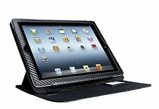 XtremeMac Black Carbon Fibre Look Thin Folio for iPad 2 and 3
