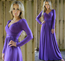 Rayon Long Sleeve Casual Plus Size Dresses for Women
