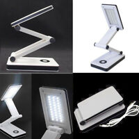 30LED SMD Portable Foldable USB Rechargeable Study Desk Table Reading Light Lamp
