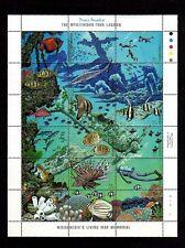 MICRONESIA - 1998 - TRUK LAGOON - FISH & MARINE LIFE - MONUMENT - MINT SHEET!