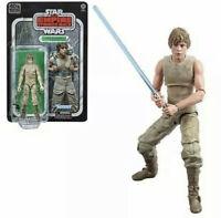 "Star Wars Black Series Luke Skywalker Dagobah 40th Anniversary ESB 6"" Mint"