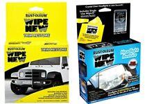 TRIM RESTORER RUST-OLEUM Wipe New Trim Restoration Wipe New & Headlight Kit Also