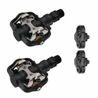 Barbieri PED/C21L SPD Mountain Bike Clipless Pedals with Cleats - Black
