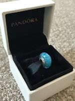 Blue Looking Glass - Genuine PANDORA Charm