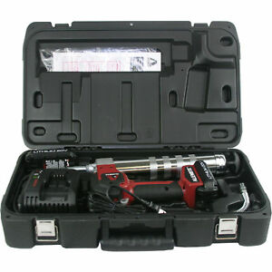 NEW! Alemite 597-B 20-Volt Lithium-Ion 2-Speed Cordless Grease Gun Kit with LCD