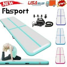13ft Inflatable Air Gym Yoga Mat Track Tumbling Floor Gymnastics Mat + Pump US