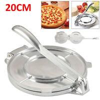 20cm Aluminium Cast Iron Corn And Flour Tortilla Roti Flatbread Press Maker UK