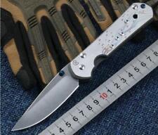 New CNC Full CR TITANIUM Handle S35vn Blade Sebenza 21 Style Folding knife KF-05