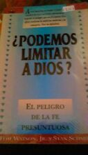 Podemos Limitar a Dios? by S. Schmidt (1994, Paperback)