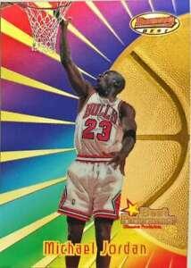 1997-98 Bowman's Best #96 MICHAEL JORDAN  Best Performance Chicago Bulls