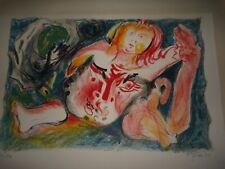 Lithographie EDOUARD PIGNON
