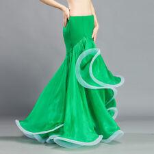 C258 Sexy Damen Bauchtanz Kostüm Rock Fishtail-Rock Belly Dance