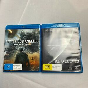 Battle Los Angles & Apollo 13 - Blue Ray