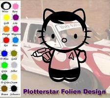 Kitty Star Trek JDM Sticker Adhesivo OEM PS Power Fun Shocker Fun