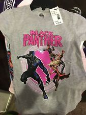 Marvel Black Panther Girls T-Shirt Small (7/8)