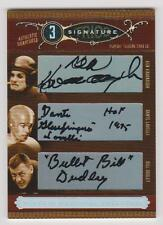 2006 National Treasures Ken Cavanaugh/Dante Lavelli/Bullet Bill Dudley AUTO /25
