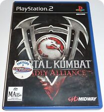 Mortal Kombat Deadly Alliance videogioco Midway PS2 <= come nuovo