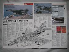 Cutaway Key Drawing of the Dassault Super Etendard