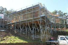 New Scaffolding Frame 10.8m Long X 6.5m Access Height High Quality Scaffold