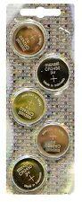NEW 5 pack Maxell CR2450 2450 3V Button Battery (Hologram pack)  *USA SELLER*