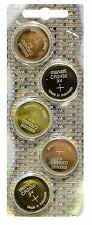 NEW 5 pack Maxell CR2450 2450 3V Button Battery (Hologram pack)  [USA]