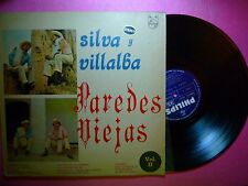 LP SILVIA Y VILLALBA Paredes Viejas COLOMBIA PRESS (VG++/VG+) F