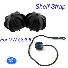 Holding Vehicle Car for VW Golf 6  GTI R20 Parcel Shelf Black String Strap Rope