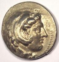 Alexander the Great III AR Tetradrachm Coin - 336-323 BC - Nice XF Condition!