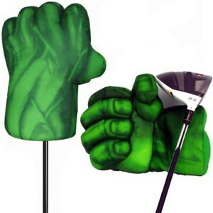 Green Hand The Fist Golf Headcover Driver Head Covers 460cc Boxing Wood Cover