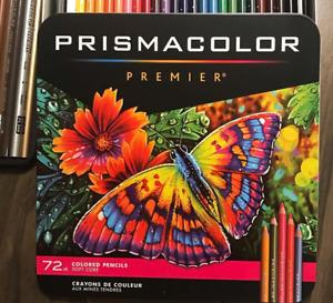 BNIB - Prismacolor Premier Colored Pencils Soft Core Set 72  - Freeship - Sealed