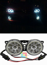 Peugeot 206+ 207 308 2008 3008 COPPIA FENDINEBBIA DIURNE ANGEL EYES FULL LED