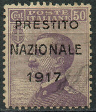 1917 - Regno d'Italia - Prestito Nazionale nuovo