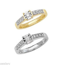 Unbranded Yellow Gold Engagement Fine Rings