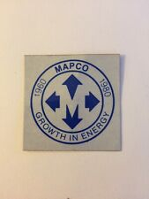 New listing old mapco mining sticker