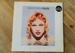 Madonna Rain 12 Inch Vinyl Record Rare 1993 Erotica