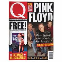 Q Magazine Pink Floyd Oasis  REM Liam Gallagher Naomi Campbell 1994 November