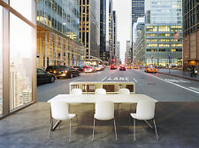 New York from Street Wall Mural Photo Wallpaper GIANT WALL DECOR PAPER POSTER