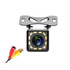 "12 LED Night Vision Car Rear View Camera 1/4"" CCD Backup Parking Camera System"