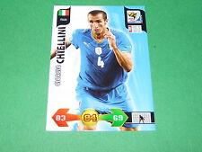 CHIELLINI  ITALIA  PANINI FOOTBALL FIFA WORLD CUP 2010 CARD ADRENALYN XL