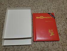 1991 Walt Disney World Master Set Book & 5 1oz Silver Proof Coins Complete Rare